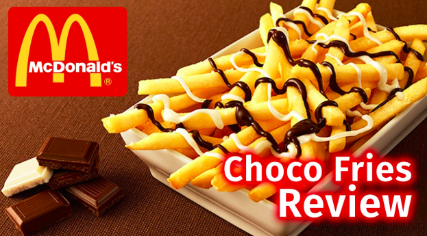 McDonalds Japan choco fries